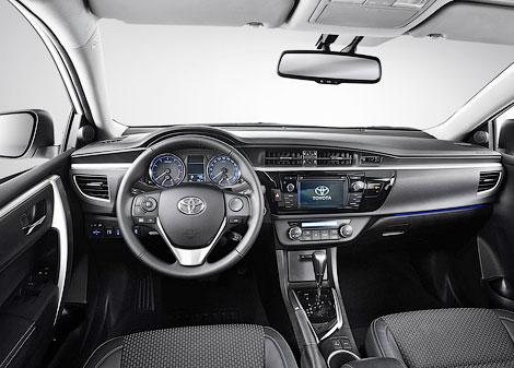 Седан Corolla будет доступен с тремя бензиновыми моторами. Фото 1