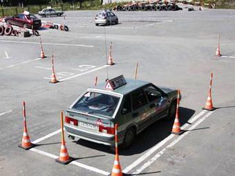 ГИБДД предложила отказаться от вождения по площадкам автошкол