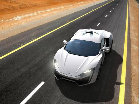 Серийный вариант суперкара Lykan Hypersport покажут в ноябре. Фото 3