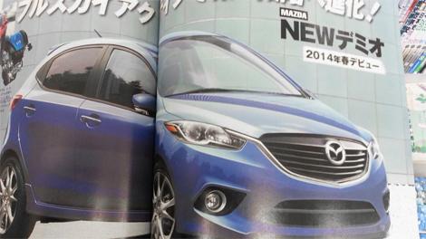 Хэтчбек Mazda2 нового поколения представят в начале следующего года