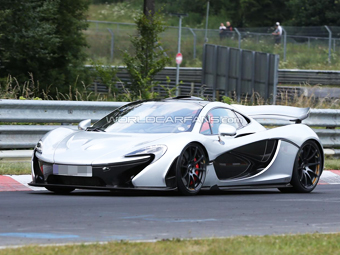 McLaren приступил к тестам первой спецверсии супергибрида P1