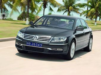 Новый флагманский седан Volkswagen покажут в Детройте