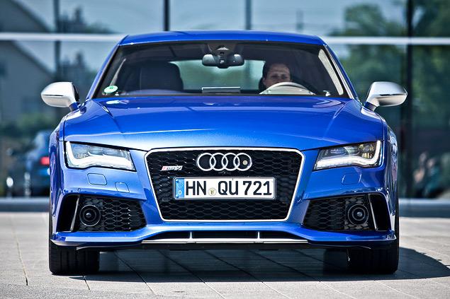 Мини-тест: 560-сильный хэтчбек Audi RS7 Sportback