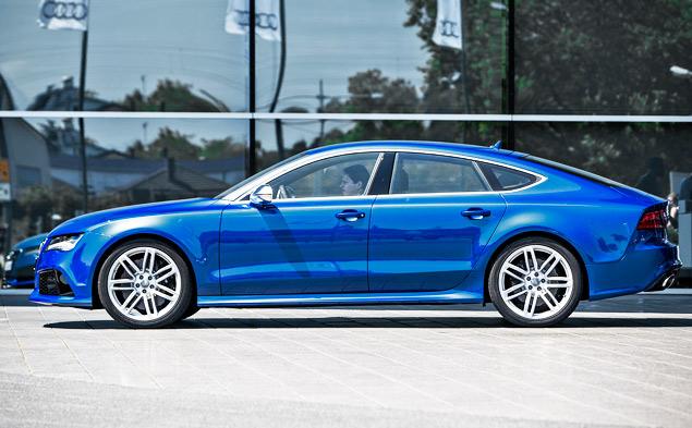 Мини-тест: 560-сильный хэтчбек Audi RS7 Sportback. Фото 5