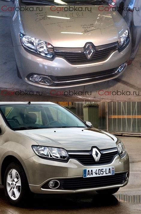 """Дизайн """"Логана"""" выполнят в стиле турецкого Renault Symbol"""