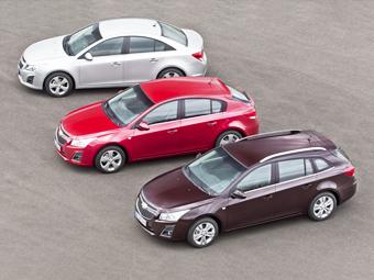 Дебют нового Chevrolet Cruze отложили на год