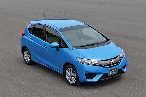 """Компания Honda рассекретила версию """"Джаза"""" для японского рынка"""