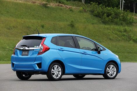 """Компания Honda рассекретила версию """"Джаза"""" для японского рынка. Фото 1"""