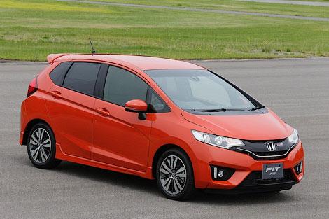 """Компания Honda рассекретила версию """"Джаза"""" для японского рынка. Фото 2"""