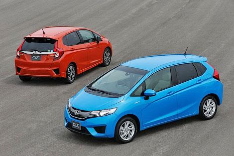 """Компания Honda рассекретила версию """"Джаза"""" для японского рынка. Фото 3"""