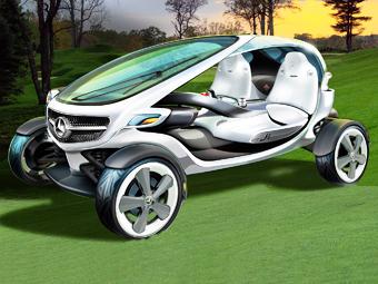 Mercedes-Benz разработал гольф-карт будущего
