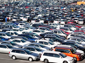 Японские машины составили половину российского парка иномарок