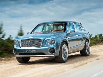 """В Bentley дали """"зеленый свет"""" первому серийному внедорожнику"""