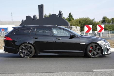 Премьера Jaguar XFR-S Sportbrake состоится во Франкфурте. Фото 1