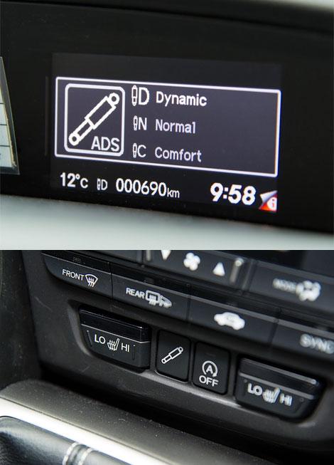 Адаптивные амортизаторы появятся в задней подвеске универсала Civic