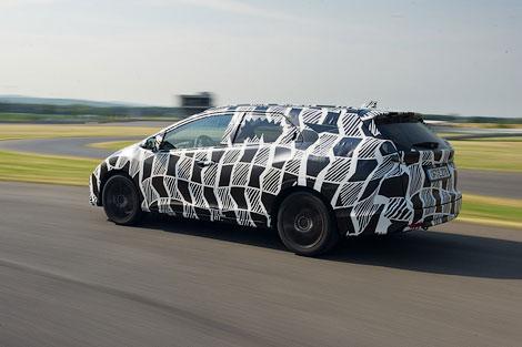 Адаптивные амортизаторы появятся в задней подвеске универсала Civic. Фото 2