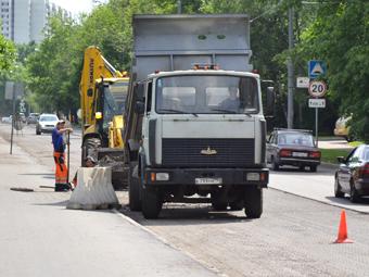 ГИБДД назвала ремонт дорог злом
