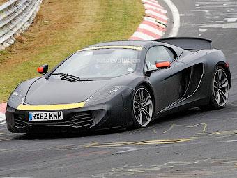 McLaren начал тесты конкурента Porsche 911