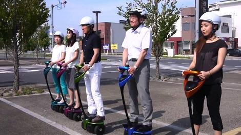 Двухколесный электроскутер Toyota будут тестировать в течение трех лет. Фото 1