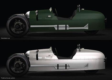 """В """"Моргане"""" подготовили специальную модификацию моделей Roadster и 3 Wheeler. Фото 1"""