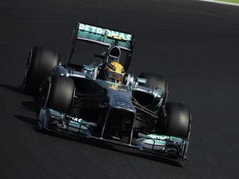 Льюис Хэмилтон выиграл квалификацию Формулы-1 в Венгрии