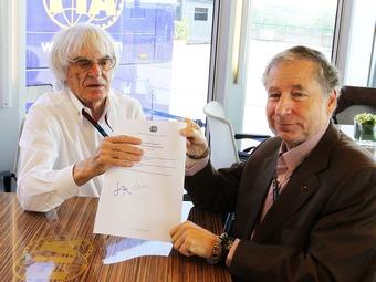Промоутер Формулы-1 и FIA пообещали подписать Договор согласия