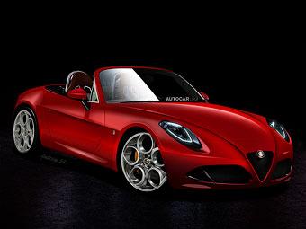 Родстер Alfa Romeo будет схож с Mazda MX-5 наполовину