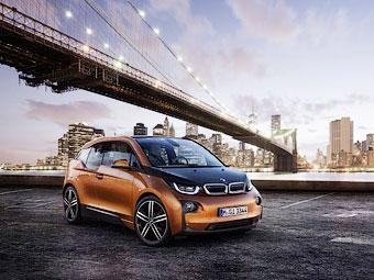 Рассекречен серийный электрокар BMW