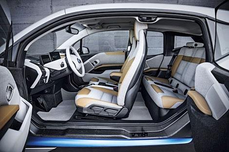 Компания BMW официально представила модель i3. Фото 5