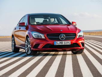 Mercedes-Benz прекратил поставки седана CLA в Россию