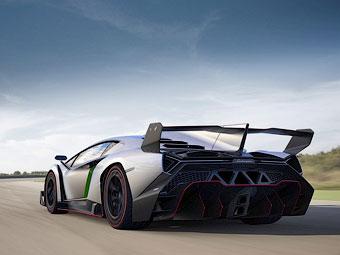 Суперкар Lamborghini Veneno лишится крыши