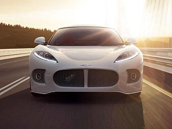 Spyker представит на Конкурсе элегантности новый спорткар без крыши