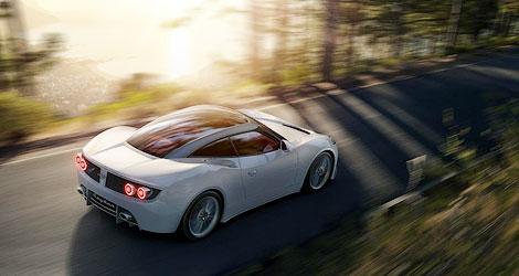 У 375-сильной модели Spyker B6 Venator появится версия с открытой крышей