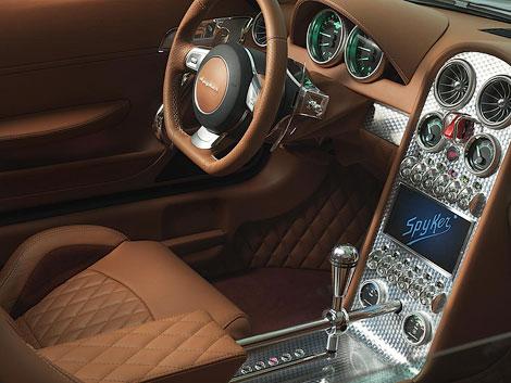 У 375-сильной модели Spyker B6 Venator появится версия с открытой крышей. Фото 1