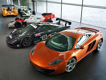 McLaren и Honda задумались о совместной разработке дорожных машин