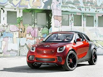 Глава Daimler рассказал о кроссовере Smart