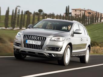 Audi Q7 получит гибридную версию до смены поколения