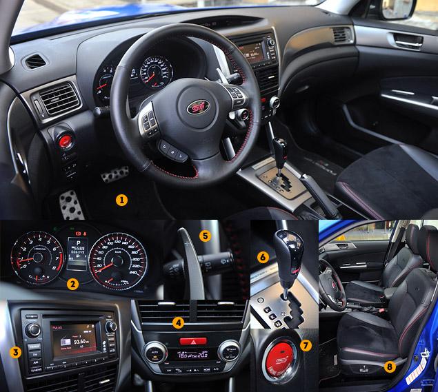 """Наш гараж: """"заряженный"""" кроссовер Subaru Forester tS. Фото 1"""
