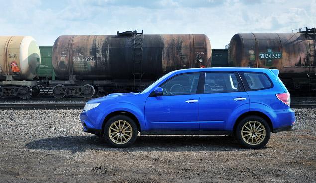 """Наш гараж: """"заряженный"""" кроссовер Subaru Forester tS. Фото 3"""
