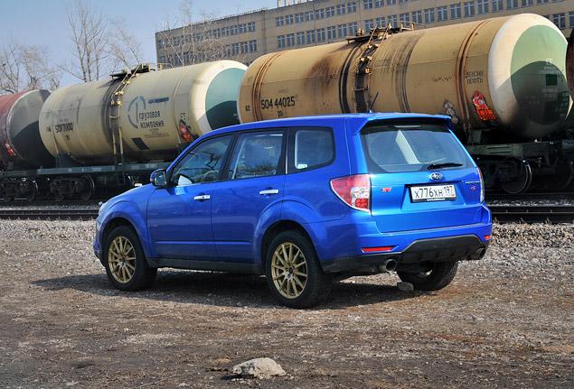 """Наш гараж: """"заряженный"""" кроссовер Subaru Forester tS. Фото 4"""