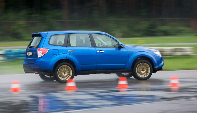 """Наш гараж: """"заряженный"""" кроссовер Subaru Forester tS. Фото 6"""