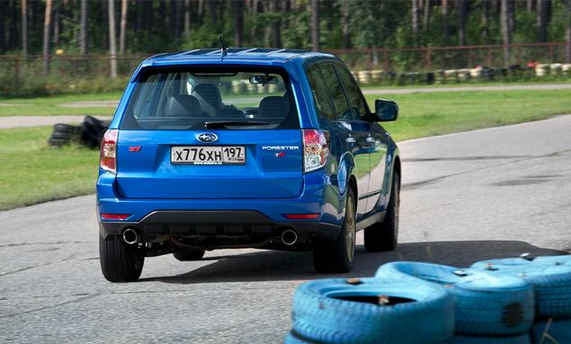 """Наш гараж: """"заряженный"""" кроссовер Subaru Forester tS. Фото 7"""