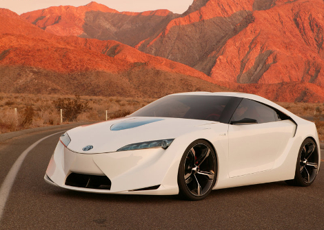 Концепт Hybrid-R станет предвестником совместного спорткара Toyota и BMW