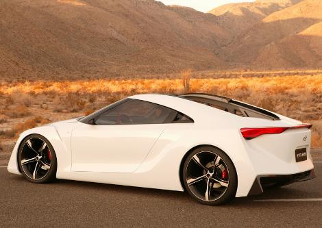 Концепт Hybrid-R станет предвестником совместного спорткара Toyota и BMW. Фото 1
