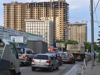 Треть российских водителей ни разу не стояли в пробках