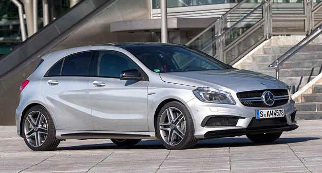 """Первый тест самого маленького """"заряженного"""" Mercedes-Benz – A 45 AMG"""