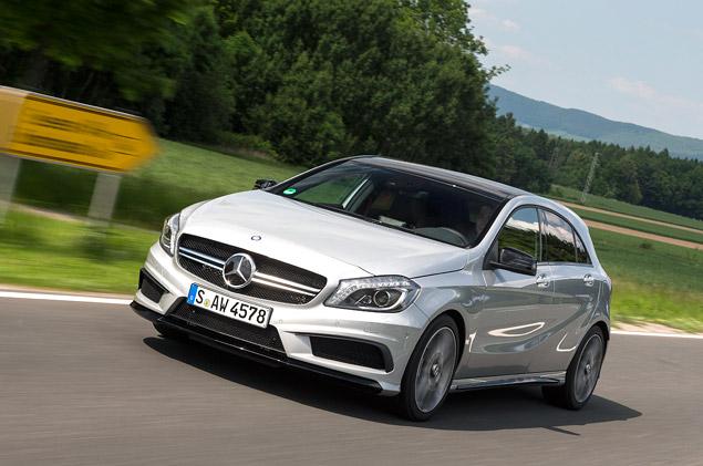 """Первый тест самого маленького """"заряженного"""" Mercedes-Benz – A 45 AMG. Фото 3"""