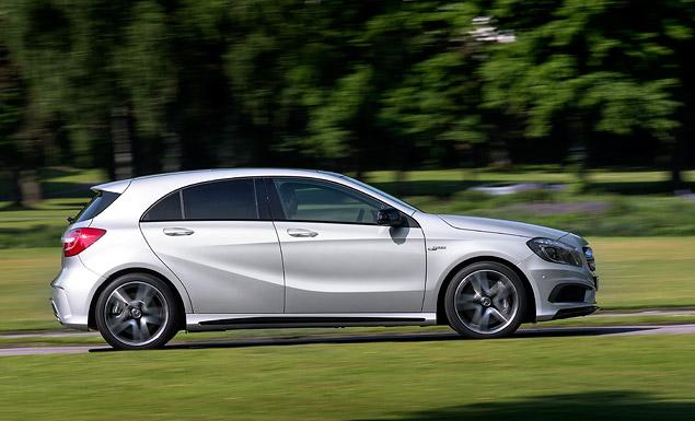 """Первый тест самого маленького """"заряженного"""" Mercedes-Benz – A 45 AMG. Фото 5"""