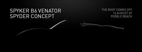 Открытая версия концептуального спорткара B6 Venator дебютирует через неделю