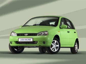 Lada Kalina выбыла из пятерки самых популярных моделей
